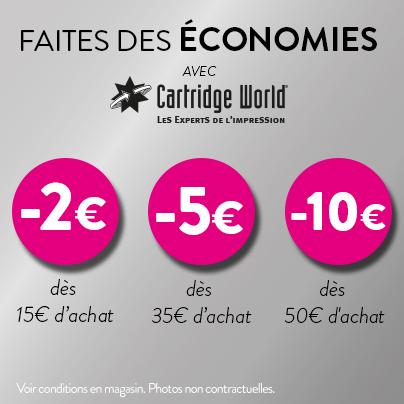 Faites des économies avec Cartridge World