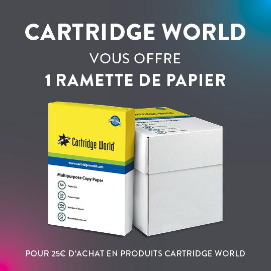 Offre été ramette papier Cartridge World Luisant